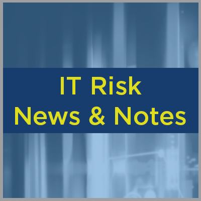 IT Risk News & Notes - October 2020